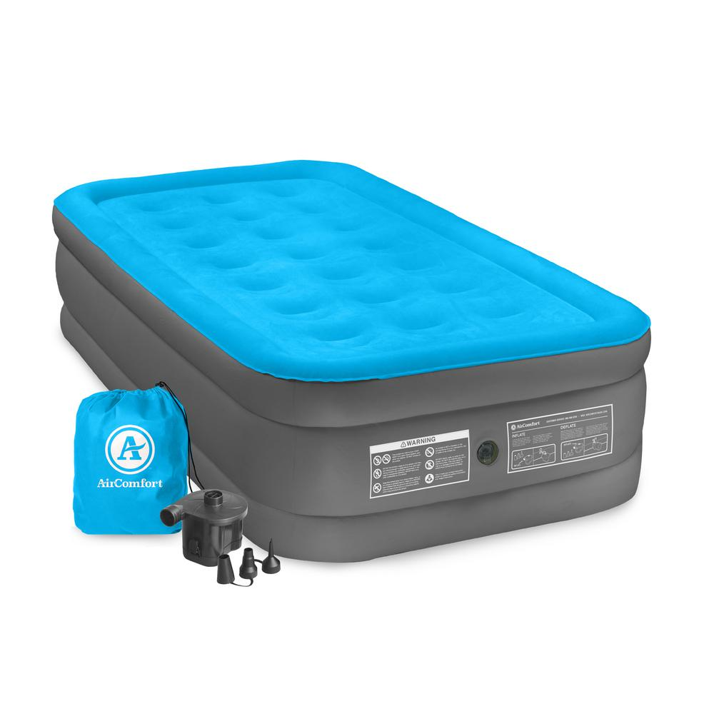 Air Comfort Camp Mate Twin Size Raised Air Mattress 6301trb The