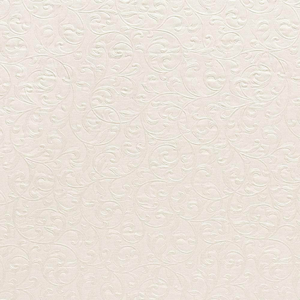 Carlotta Cream Textured Scroll Wallpaper