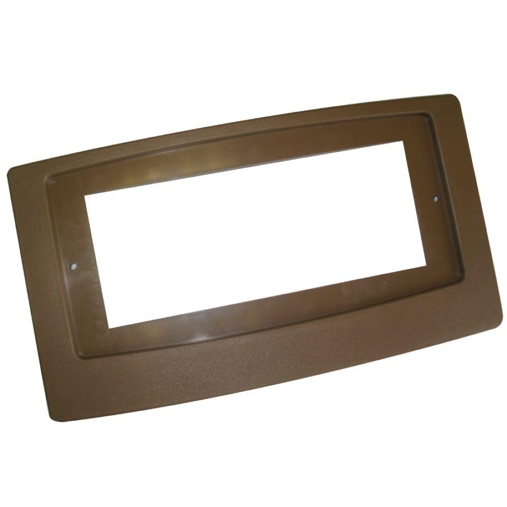 Suncourt Flush Fit Booster Adaptor Plate in Brown
