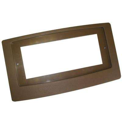 Flush Fit Booster Adaptor Plate in Brown