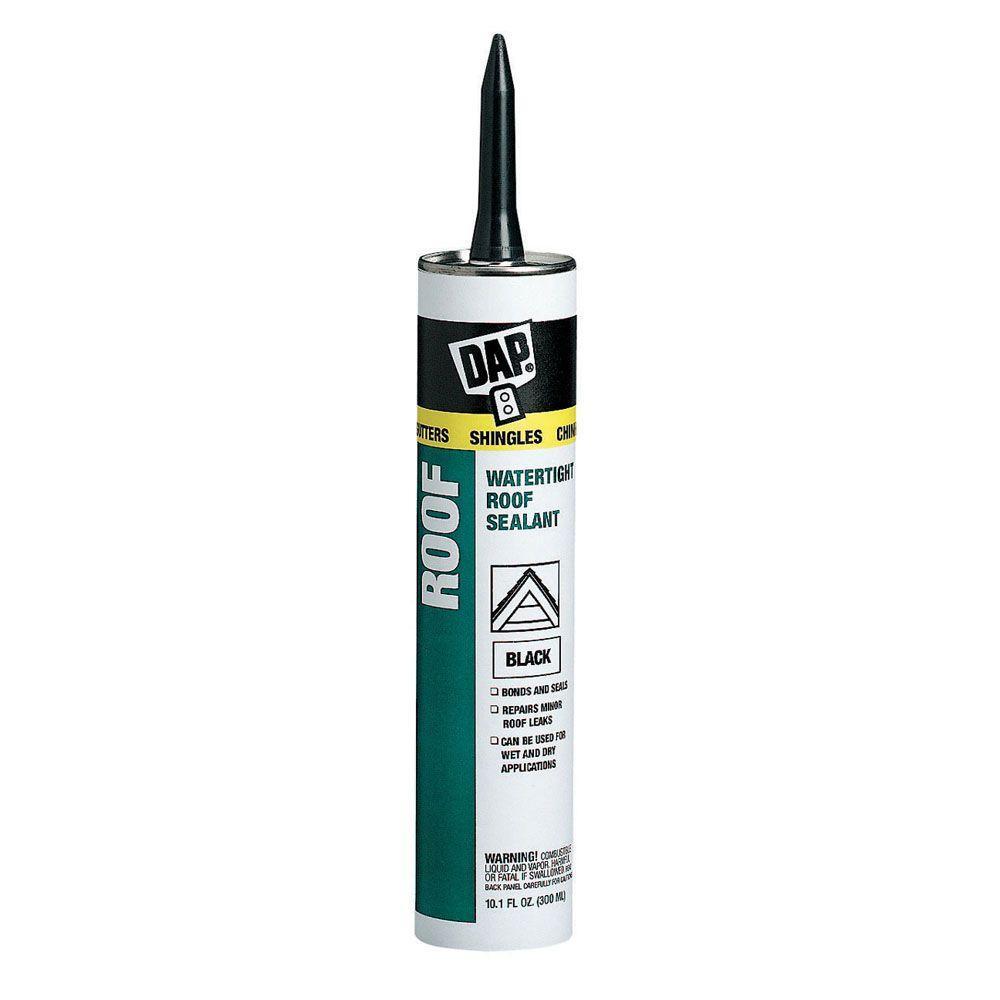 Dap 10 1 Oz Black Roof Waterproof Asphalt Filler And