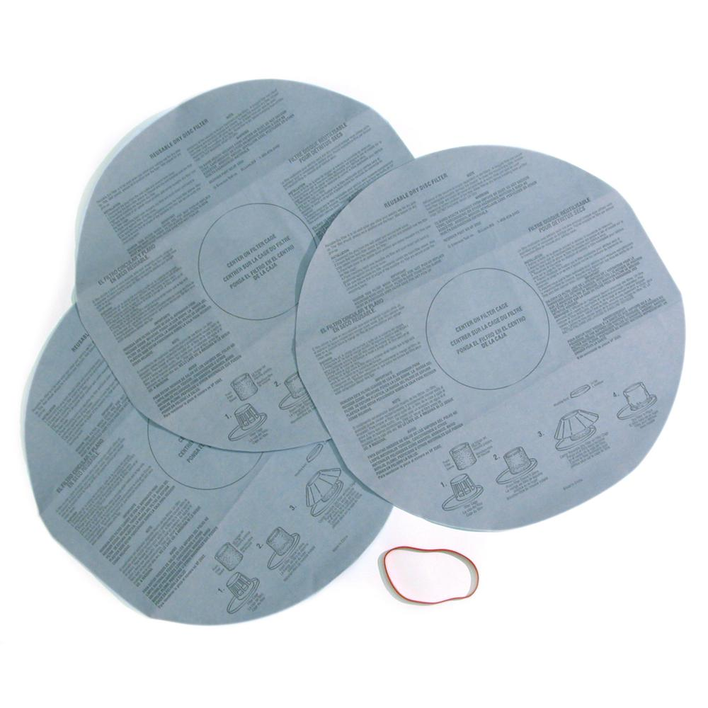 Multi-Fit Disposable Filter for Shop-Vac and Genie Wet/Dry Vacs (24-Pack)