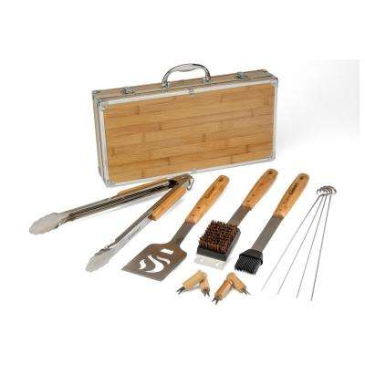 13-Piece Bamboo Tool Set