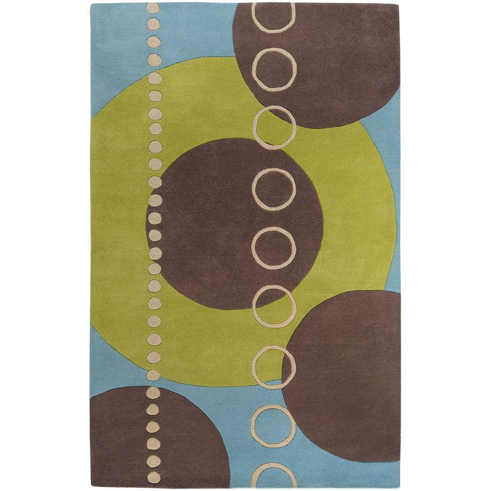 Artistic Weavers Michael Sky Blue 8 ft. x 11 ft. Area Rug