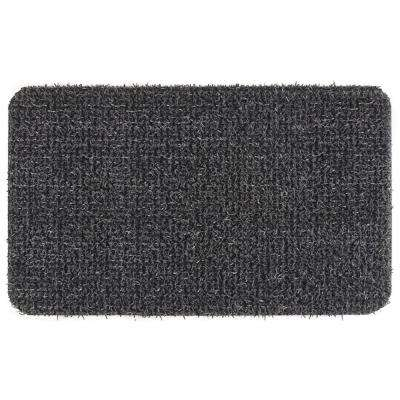 Flair Medium Flint 18 in. x 30 in. Door Mat