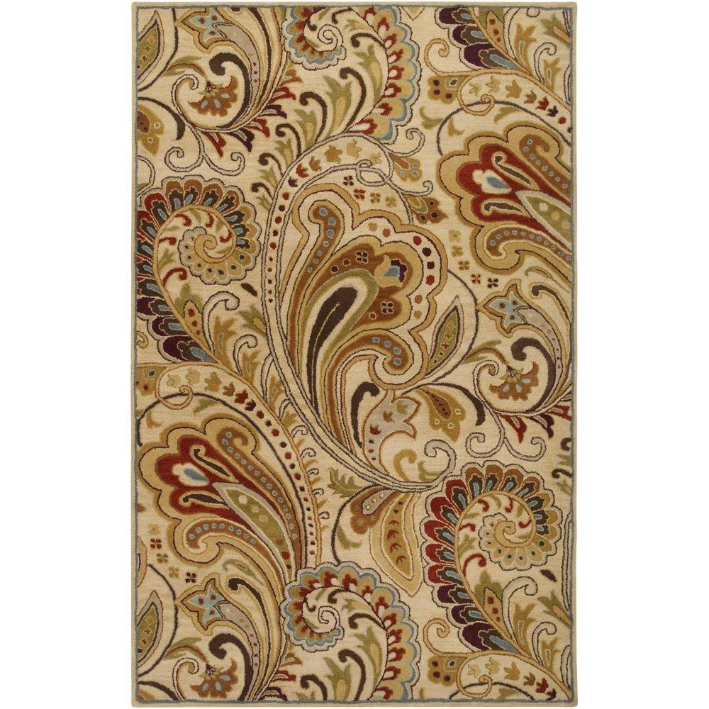Brescia Ivory 3 ft. 3 in. x 5 ft. 3 in.