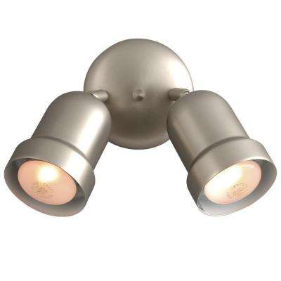 N 2 Light Pewter Track Head Spotlight With Directional Heads