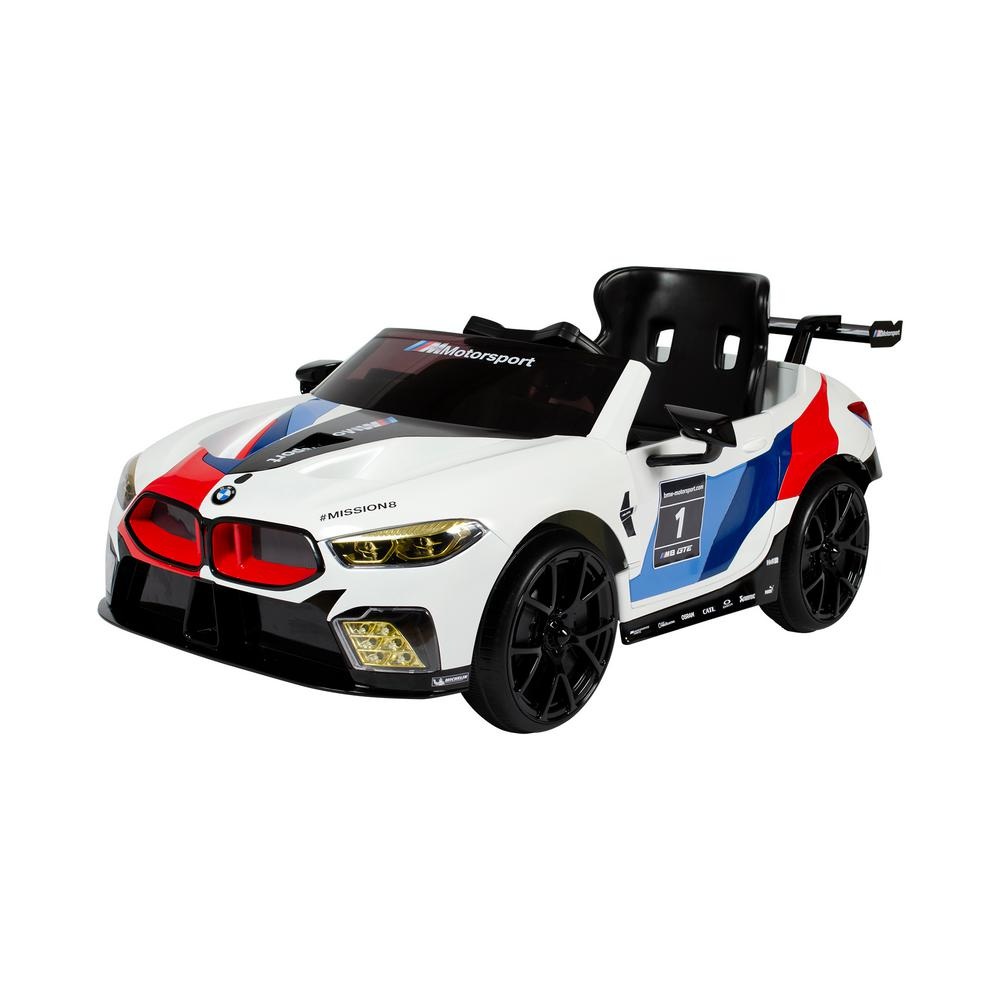 BMW M8 GTE 6-Volt Battery Ride-On Vehicle