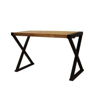 Walnut Brown Console Table