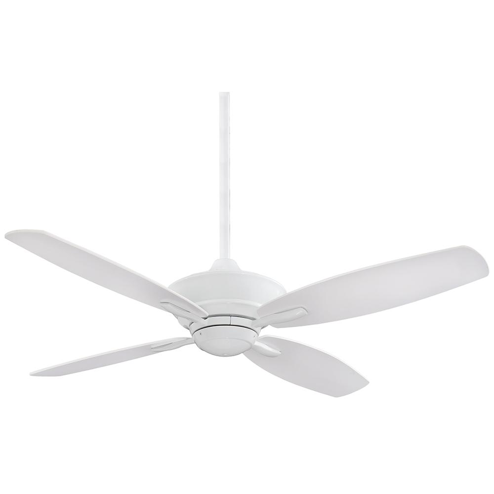 Minka-Aire New Era 52 in. Indoor White Ceiling Fan with Remote Control