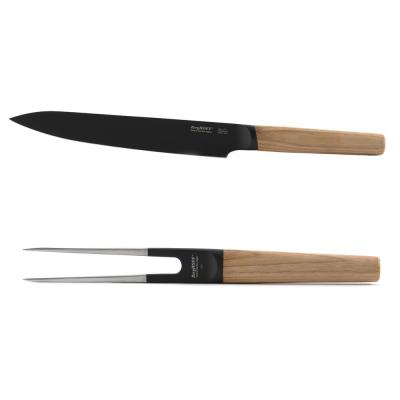 Ron 2-Piece Carving Set 7.5 in. Carving Knife and 6.5 in. Carving Fork