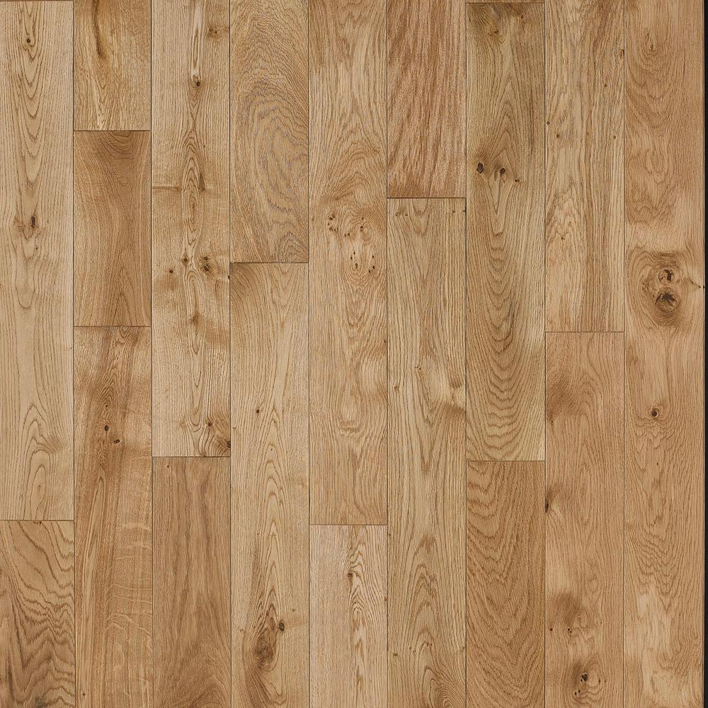 Light Hardwood Flooring Samples on Old Quarter Sawn Wood Floor