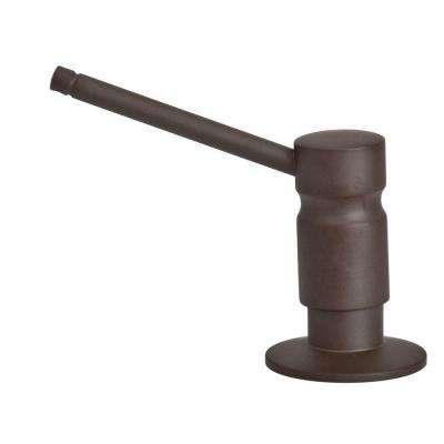 Solid Brass Soap/Lotion Dispenser in Oil Rubbed Bronze