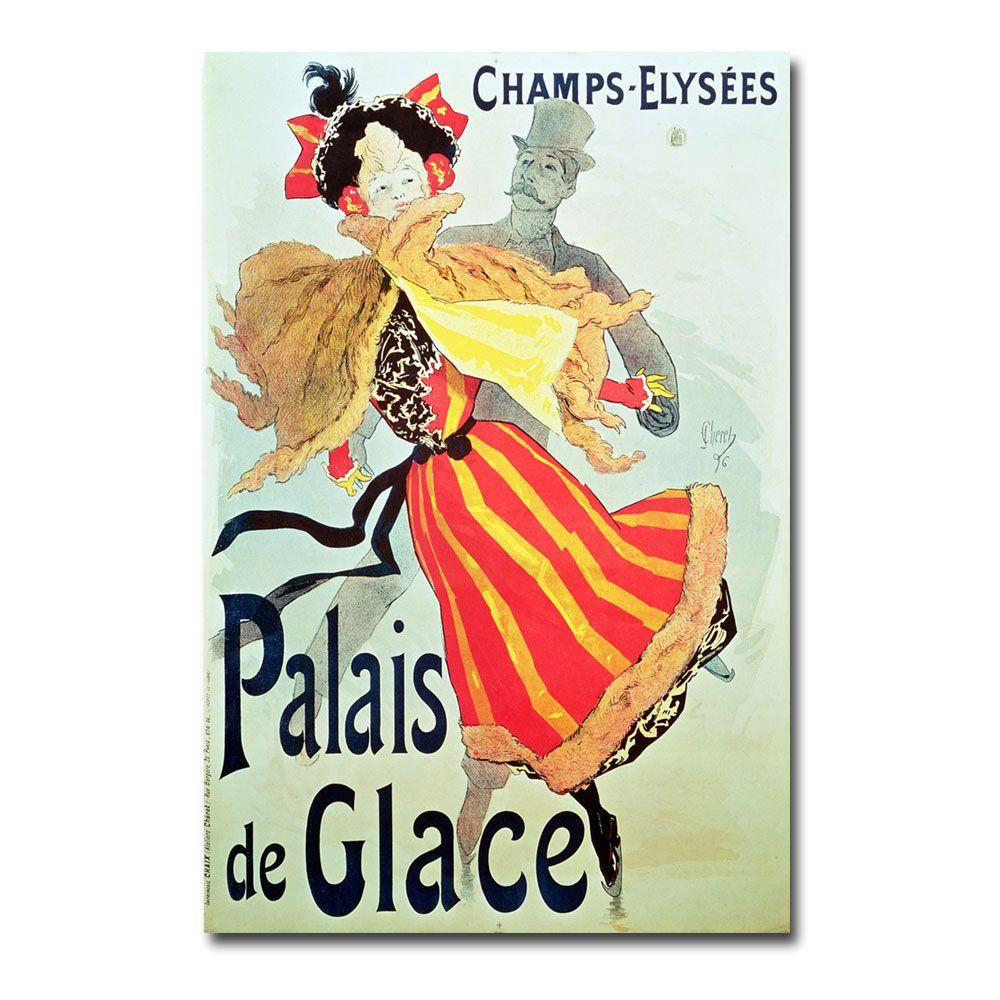 Trademark Fine Art 24 in. x 16 in. Ice Palace Champs Elysees 1893 Canvas Art