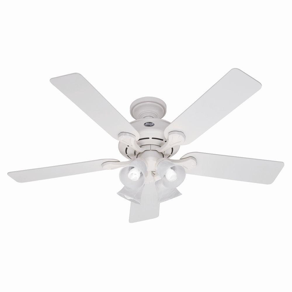 Hunter Augusta 52 in. White Indoor Ceiling Fan