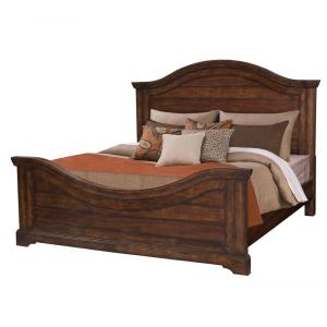 Stonebrook Tobacco King Panel Bed