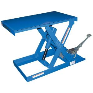 Vestil 20 inch x 33 inch 500 lb. Capacity Foot Pump Scissor Lift Table by Vestil