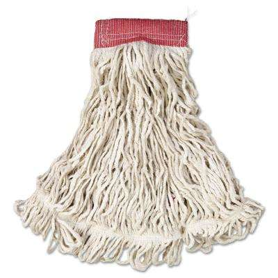 Large Web Foot Wet Mop with 5 in. Headband (Case of 6)