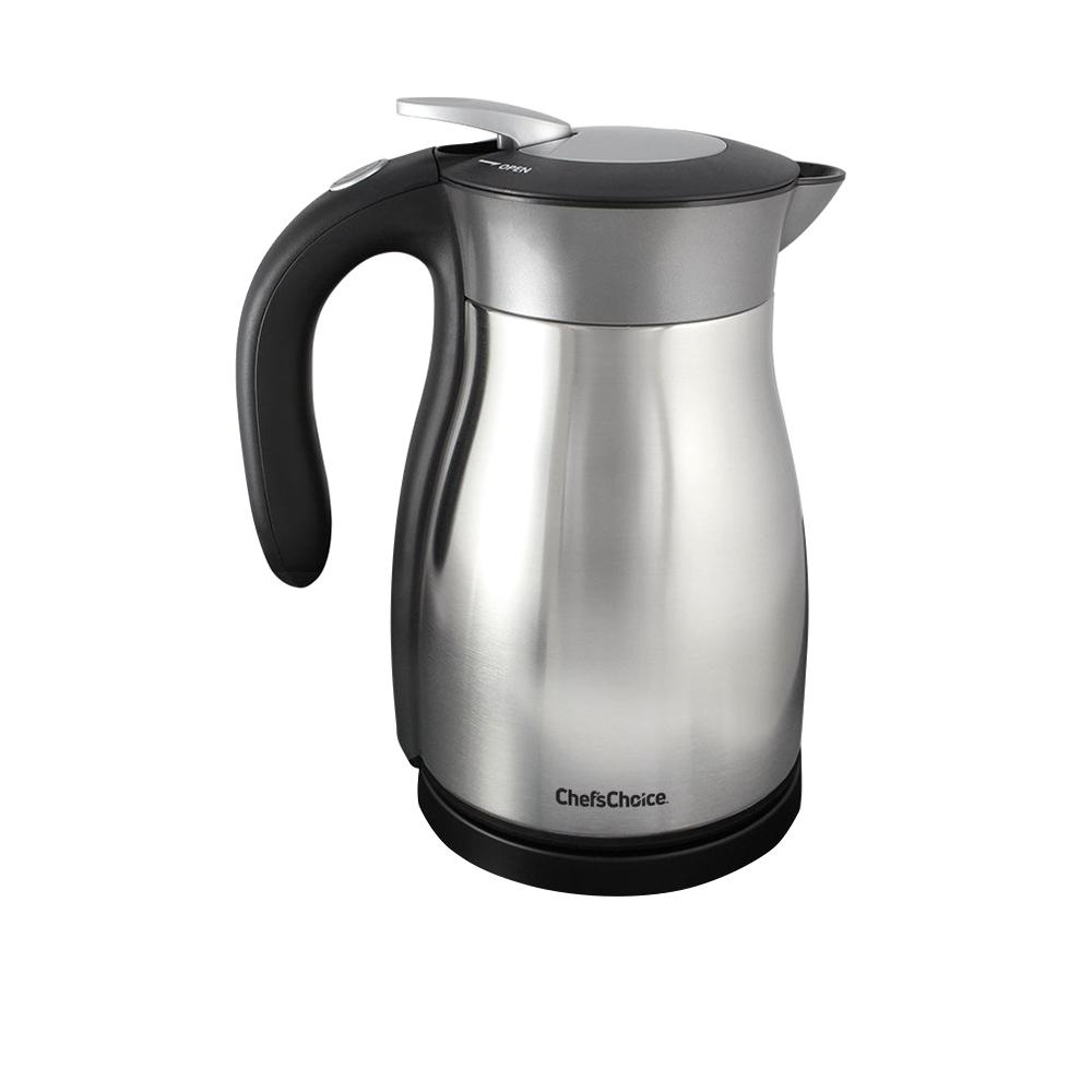 5-Cup Black Stainless Steel Electric Kettle with Automatic Shut-off, black/stainless steel 5-Cup Black Stainless Steel Electric Kettle with Automatic Shut-off, black/stainless steel