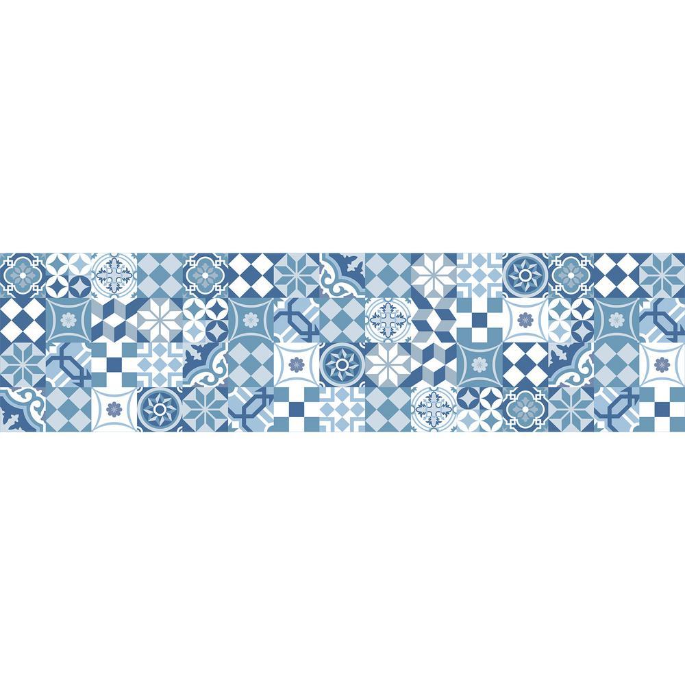 Home Decor Line Blue Cementine L And