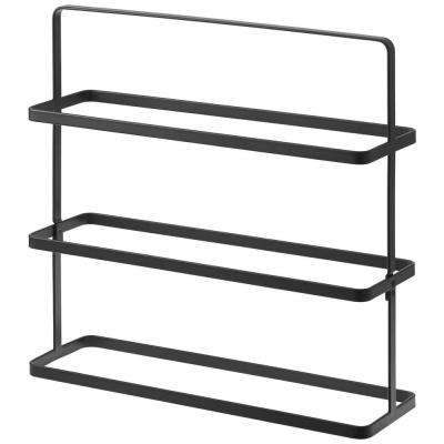 Tower 9 pair black Shoe Rack Wide steel