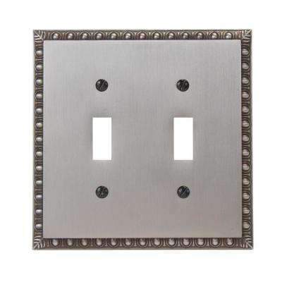 Renaissance 2 Toggle Wall Plate - Antique Nickel