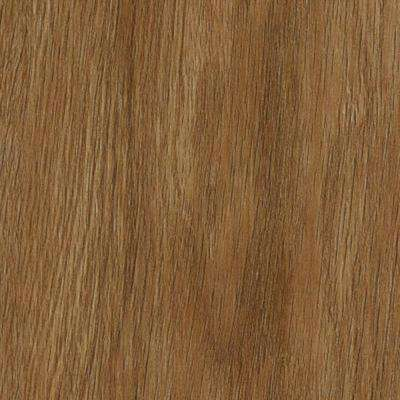 Take Home Sample - Oak Gunstock Click Lock Luxury Vinyl Plank Flooring - 6 in. x 9 in.