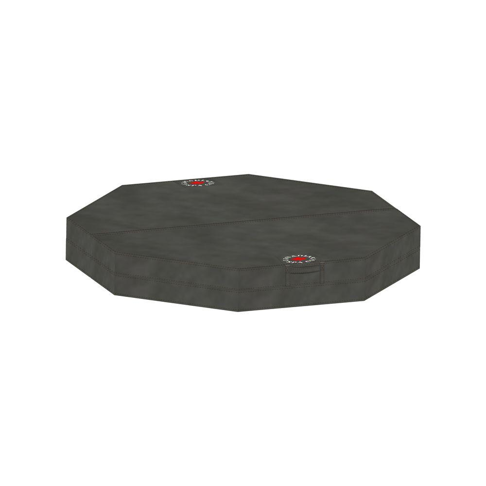 80 in. x 77 in Octagonal Hot Tub Cover with 5
