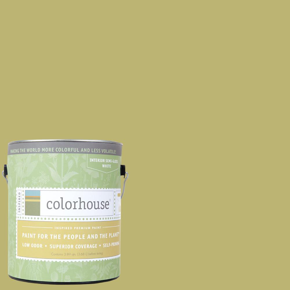 1 gal. Leaf .04 Semi-Gloss Interior Paint