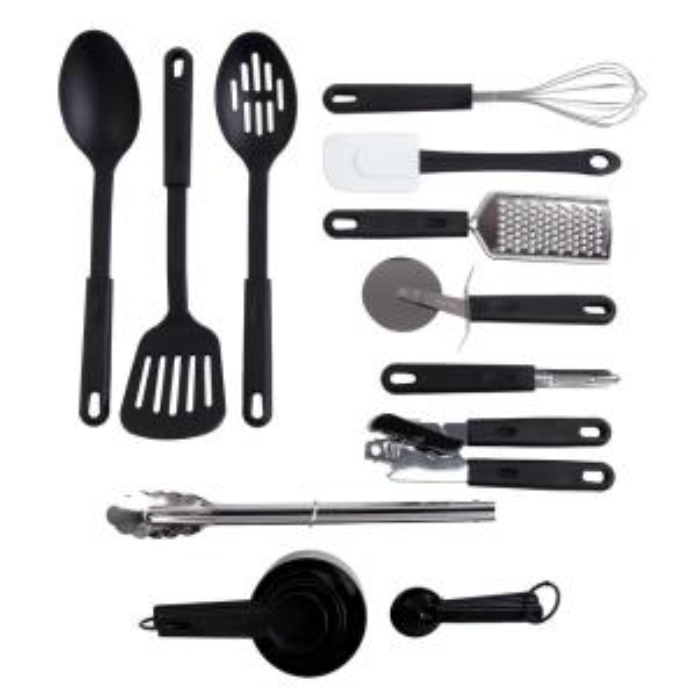 Total Kitchen 20-Piece Combo Utensil Set