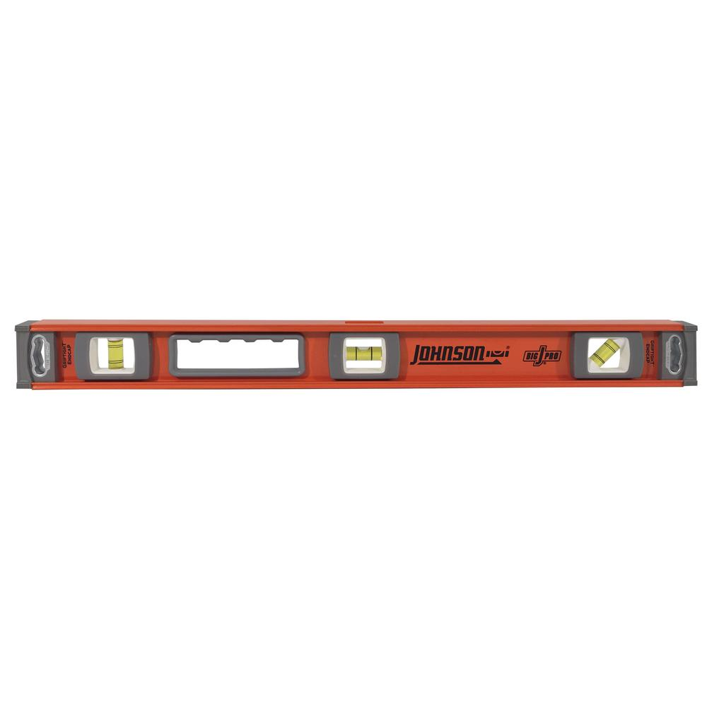 24 in. Magnetic Big J Pro Heavy Duty I-Beam Aluminum Level
