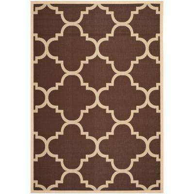 7 X 10 Dark Brown Outdoor Rugs Rugs The Home Depot