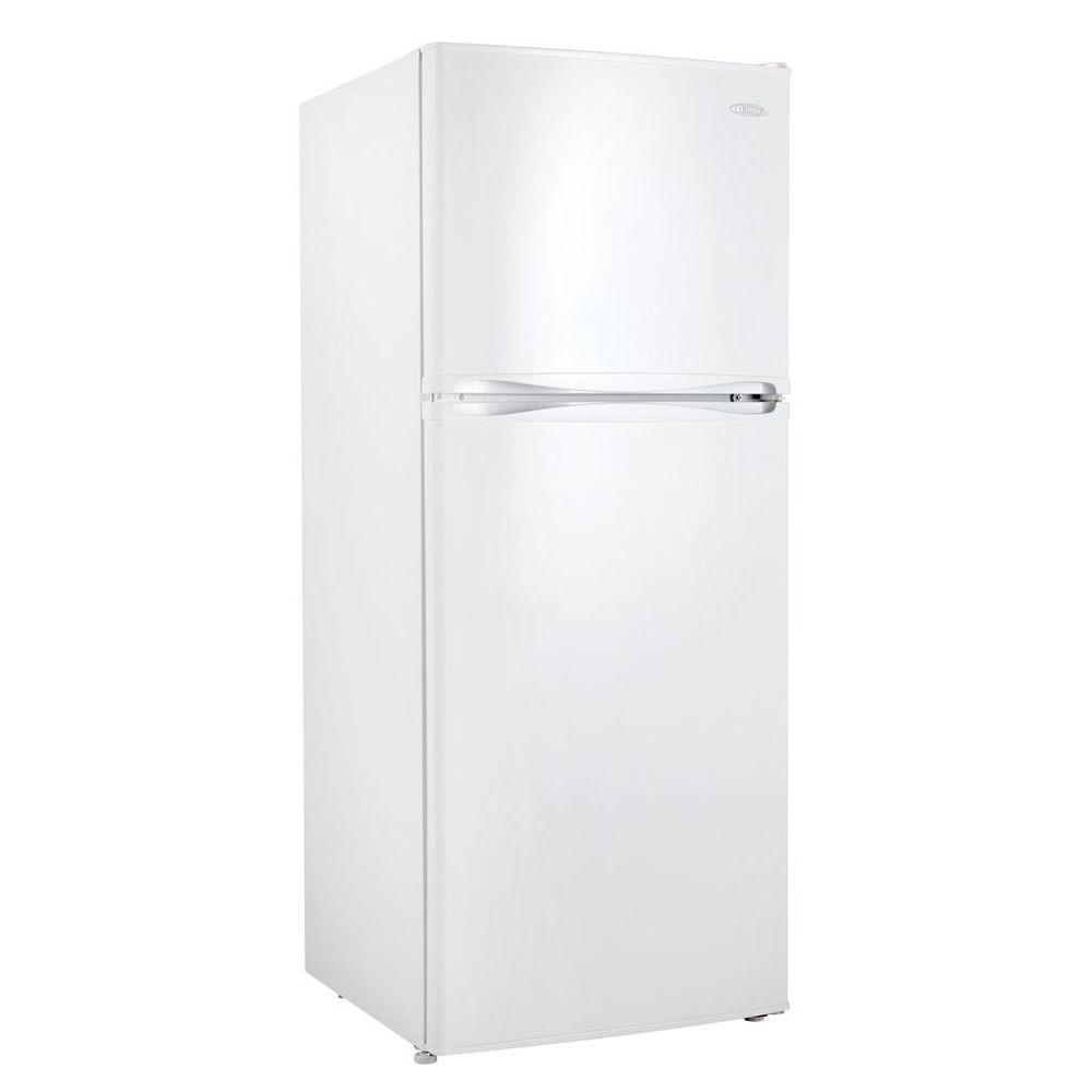 Danby 10.0 cu. ft. Top Freezer Refrigerator in White, Counter Depth