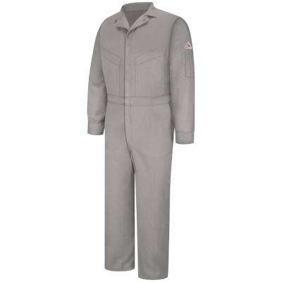 EXCEL FR ComforTouch Men's Size 42 (Tall) Grey Deluxe Coverall
