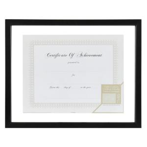 Pinnacle 1-Opening 14 inch x 11 inch Document Picture Frame by Pinnacle
