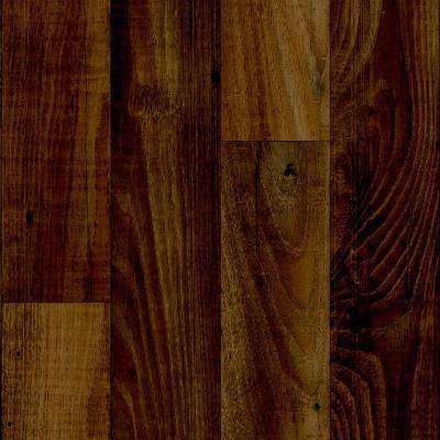 Take Home Sample - Smokehouse Oak Gunstock Vinyl Sheet - 6 in. x 9 in.