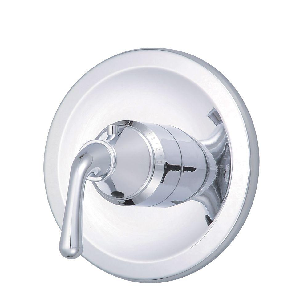 Danze Bannockburn 3/4 in. Thermostatic Shower Valve Trim Only in Chrome