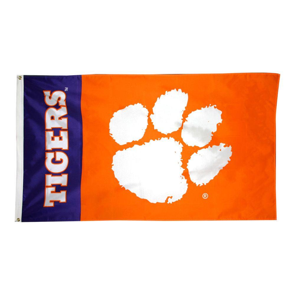 Annin Flagmakers 3 ft. x 5 ft. Polyester Clemson Tigers Flag