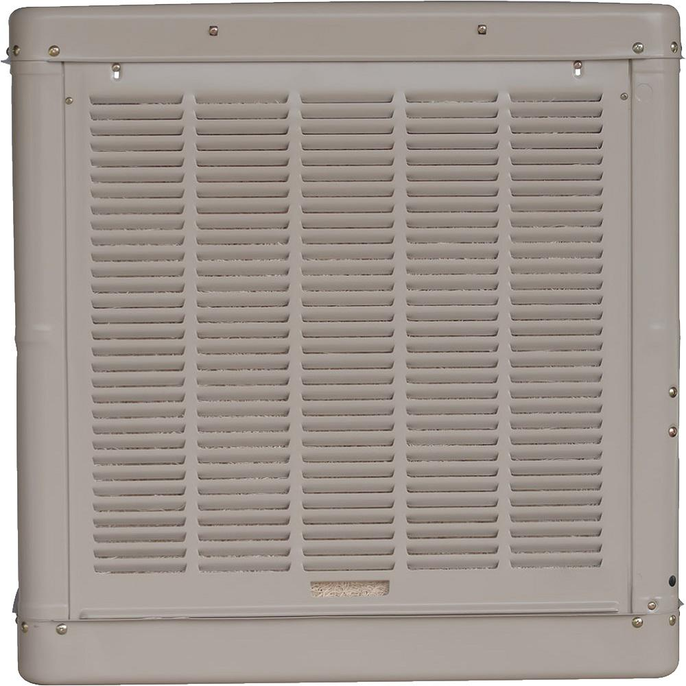 Champion Cooler 4900 Cfm Down Draft Roof Evaporative Cooler For 1800 Sq Ft Motor Not Included 4001 Dd The Home Depot
