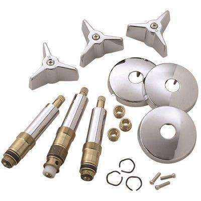 Tub And Shower Rebuild Kit For American Standard Colony Faucets in Chrome