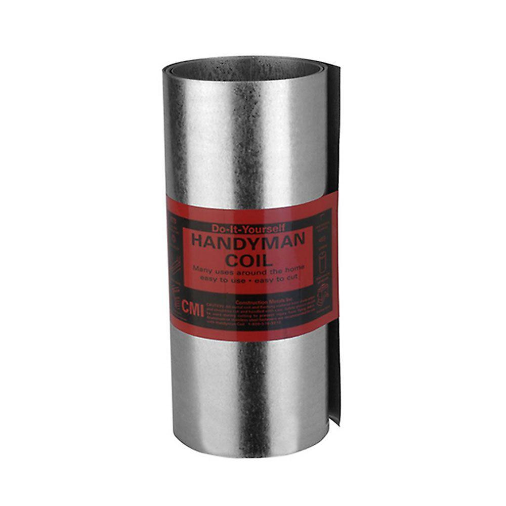 10 in. x 10 ft. Galvanized Roll Valley Flashing