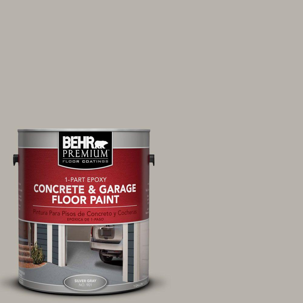1 gal. #PFC-67 Mossy Gray 1-Part Epoxy Concrete and Garage Floor