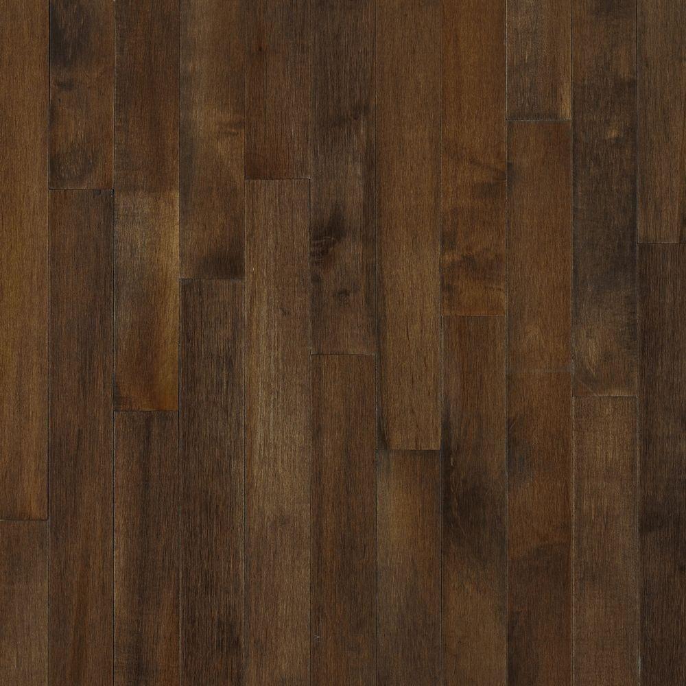 Take Home Sample - American Originals Carob Maple Engineered Click Lock Hardwood Flooring - 5 in. x 7 in.