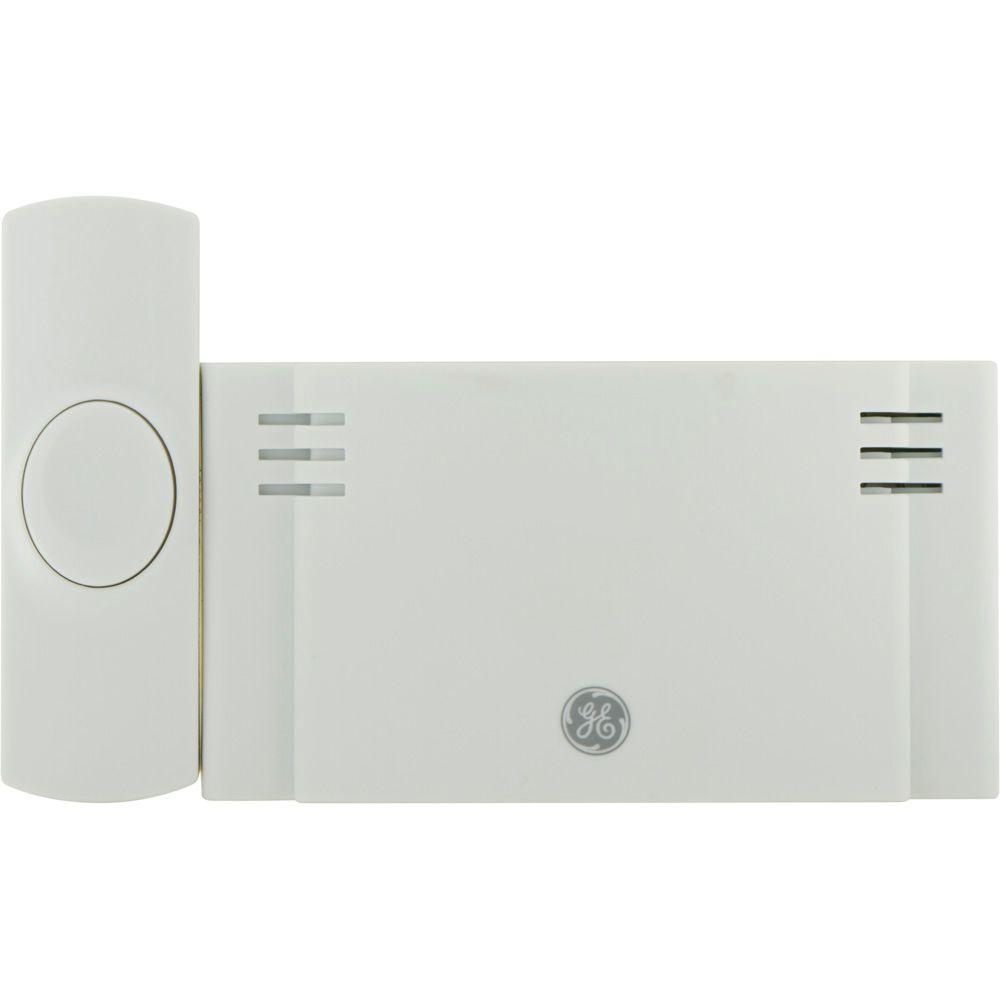 Wireless Door Chime, Battery Operated 2-Melody with 1-Push Button