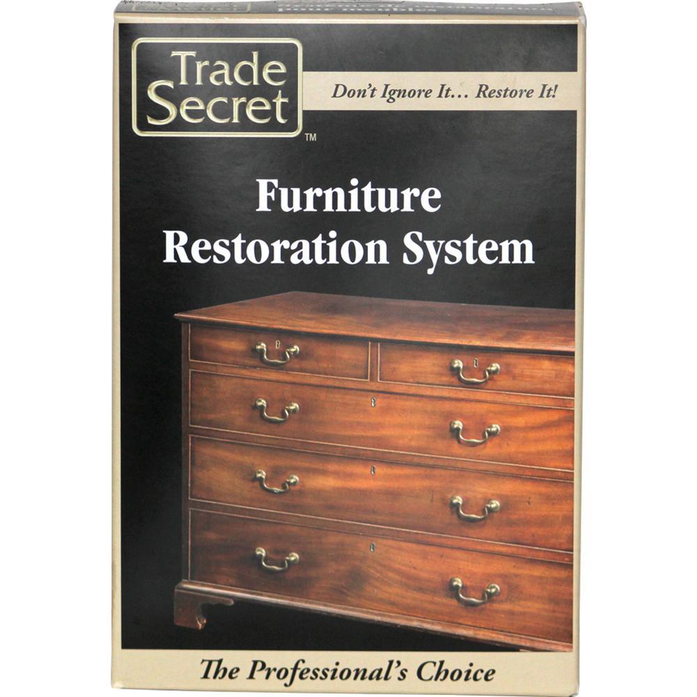 Trade Secret 8 Piece Kit Furniture Restoration System 686281 The