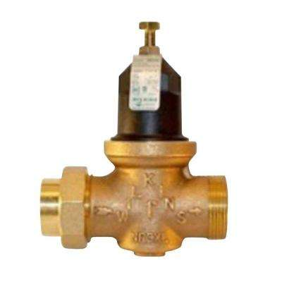 1 in. Lead Free Bronze FIP x FIP Pressure Reducing Valve