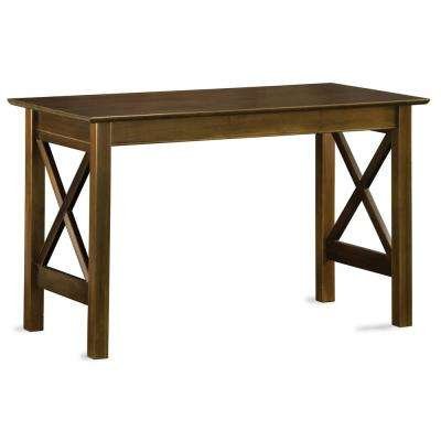 Lexi Walnut Writing Desk