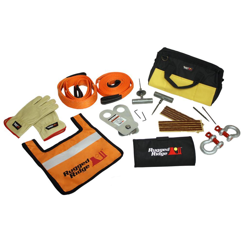 ATV/UTV Deluxe Recovery Gear Kit
