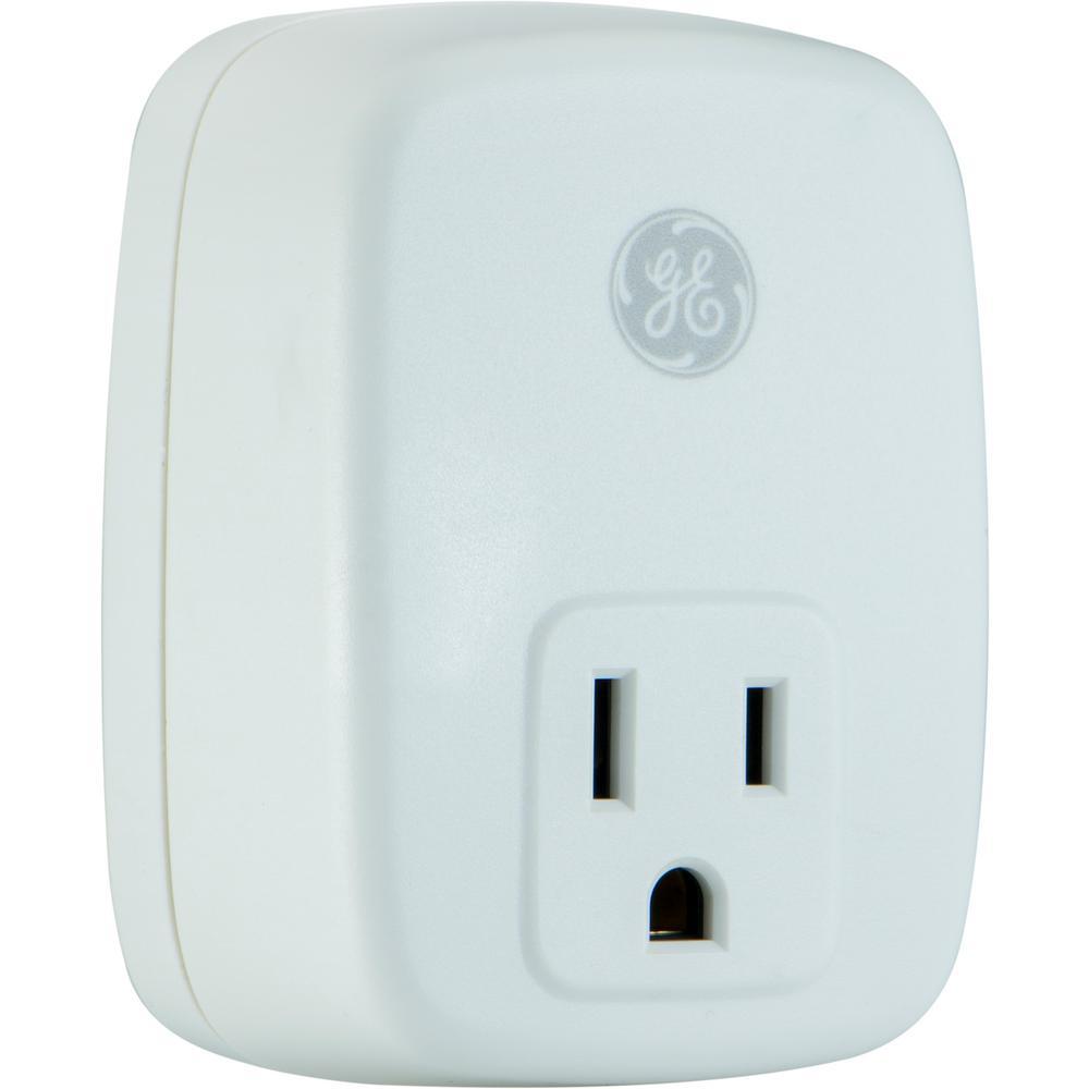 SunSmart 7-Day Indoor Plug-In Add-On Timer Receiver, White