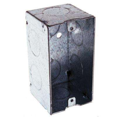 2-1/8 in. Deep Single-Gang Welded Handy Box with 3/4 in. Knockouts (50-Pack)